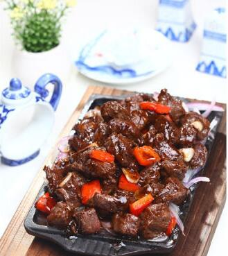 How to make Cantonese Black Pepper Beef?