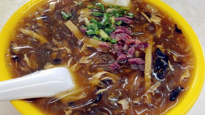 How to make Chinese food Hot and Sour Soup12