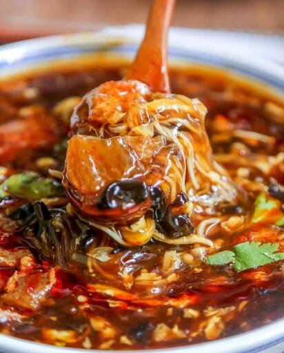 How to make Chinese food Hot and Sour Soup19