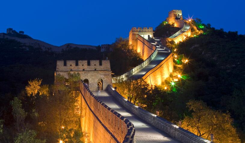 How long is China's Great wall and why was it built?