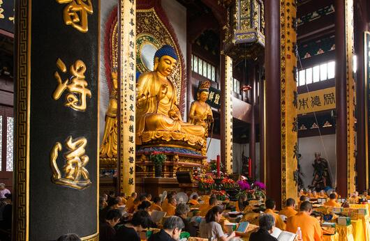 Lingyin Temple-Grand Hall of Great Sage