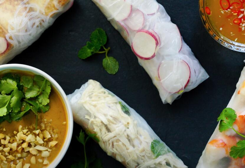 How To Make Spring Rolls?