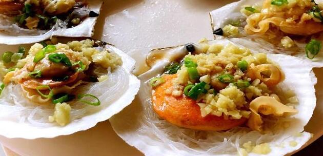 Steamed Scallops With Black Bean Sauce